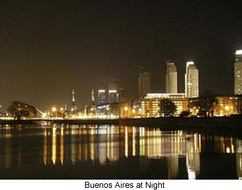 Buenos Aires Argentina at Night!
