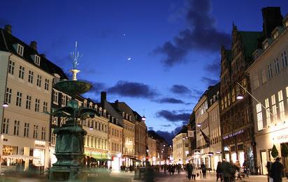 Europe's Stroget-Copenhagen