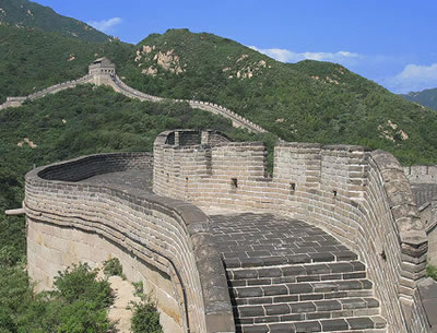 The Great Wall of China, Asia