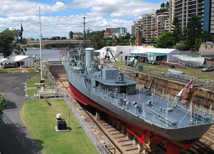 HMAS Diamantiana, WW2 warship