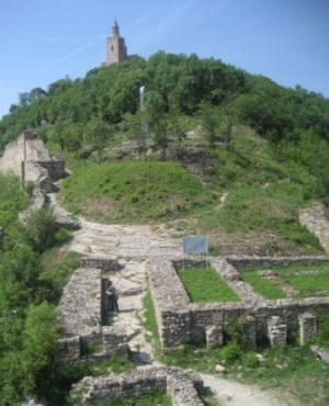 Tsarevets in Veliko Tarnovo