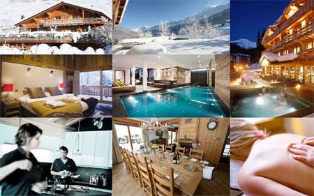 Luxury Ski Chalets in Courchevel, France