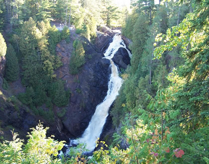 The Big Manitou Falls