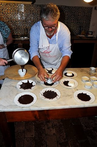Cookery school in Tuscany