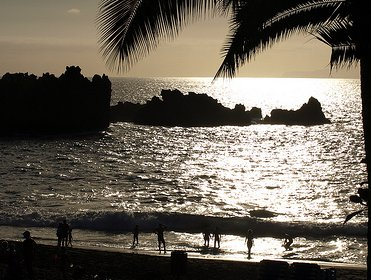 Playa de las Americas - Sunset