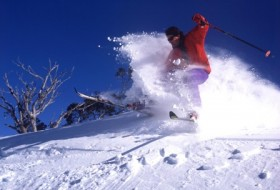 Skiing in New South Wales or Victoria