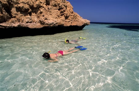 Snorkelling in Egypt's Red Sea - Blue Hole