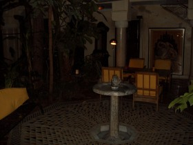The riad Courtyard