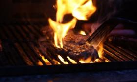 Steak at Las Cabras