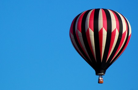 Hot Air Ballon from Uckfield