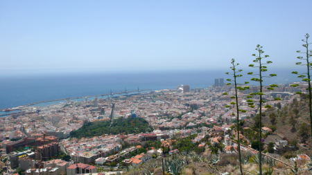 View of the City of Santa Cruz de Tenerife