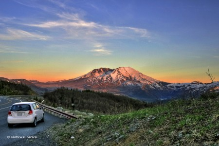 Mt. St. Helens by Flickr user papalars