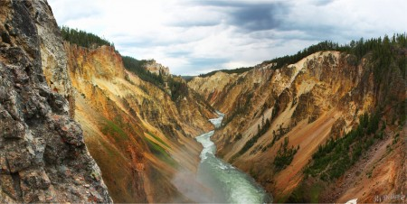 Yellowstone by Flickr user dollen