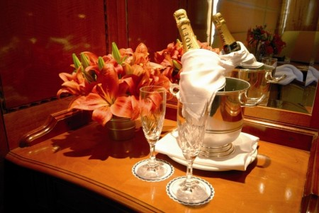 Champagne on the Blue Train, South Africa