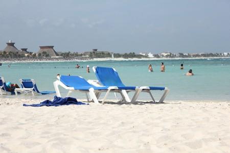 Cancun's White Sand Beach