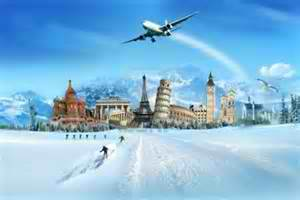 Traveling on winter