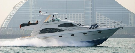 Yacht hire in Dubai