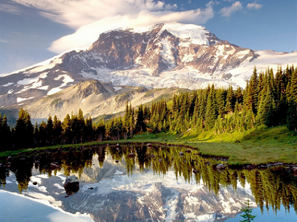 Evergreen Haven, Top Five Nature Destinations in Washington (Mount Rainer)