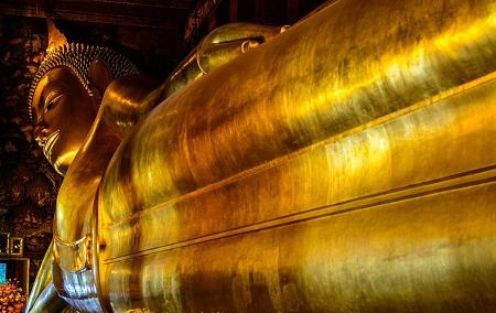 Wat Pho, reclining Buddha