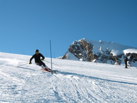 Skiing in Agros