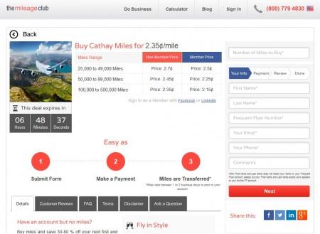 Cathay Asia Miles