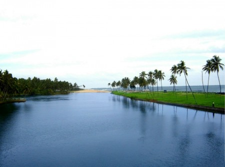 View of Ernakulam backwaters