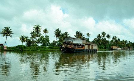 House Boat at kochi backwaters