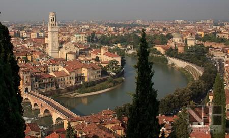 Verona, St. Peter's Castle (Castel San Pietro)