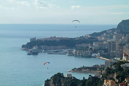 A View of the Beautiful Cote d'Azur