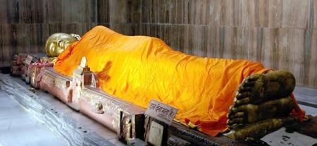 Kushinagar buddha