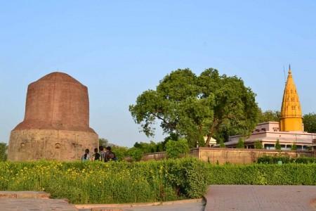 Sarnath Buddha Stupa
