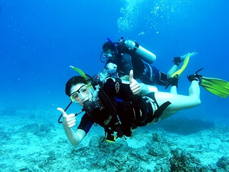 Scuba Diving in Dubai