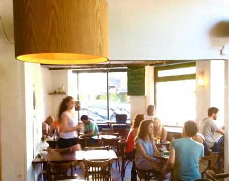 Baccio cafe Photo: Ilanit Shamia
