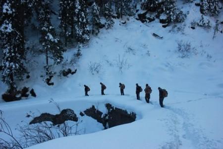 Dodital winter trek
