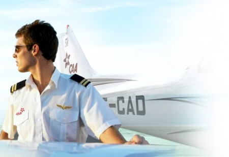 Pilot with an Emirati Airline