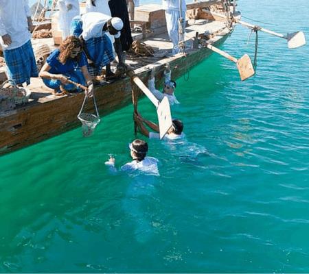 Pearl Diving in Dubai
