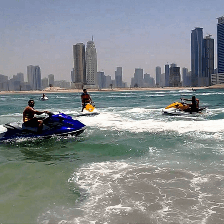 Enjoy the Water sports - Jet Skiing in Dubai