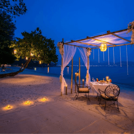 Private Dinner On The Beach Phuket
