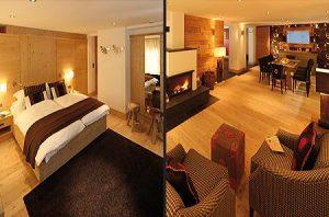 luxury ski accommodation