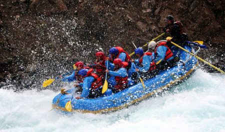 River Rafting in Zansker River